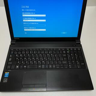 トウシバ(東芝)の東芝(TOSHIBA)ノートパソコン(ノートPC)