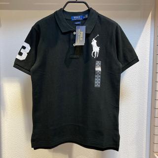 ポロラルフローレン(POLO RALPH LAUREN)の新品POLOポロラルフローレンビッグポニー刺繍ポロシャツUSAボーイズM150(ポロシャツ)