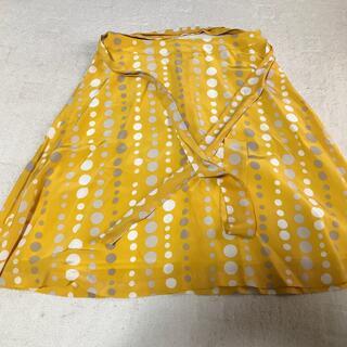 クレージュ(Courreges)のクレージュの水玉スカート(ひざ丈スカート)