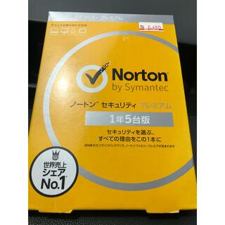 Norton - 【新品】Norton セキュリティプレミアム 1年5台版