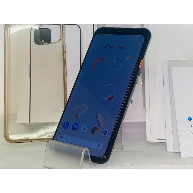 Google(グーグル)のジャンク SIMフリー 超美品 Google Pixel 4 XL 送料無料 スマホ/家電/カメラのスマートフォン/携帯電話(スマートフォン本体)の商品写真