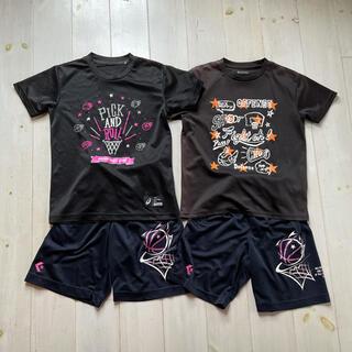 CONVERSE - お買い得! 【コンバース】バスケットTシャツ&バスパン130,140 2セット♡