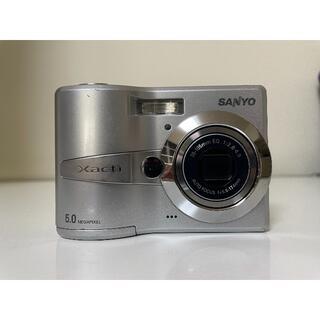 サンヨー(SANYO)のSANYO コンパクト デジタルカメラ DSC-S60 (S) 三洋 サンヨー(コンパクトデジタルカメラ)
