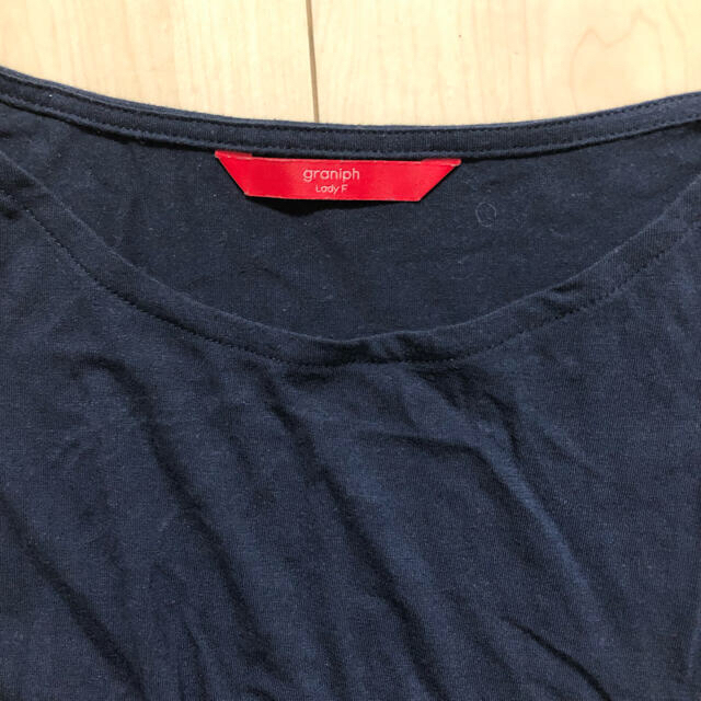 Design Tshirts Store graniph(グラニフ)のグラニフ  ワンピース   レディースのワンピース(ひざ丈ワンピース)の商品写真
