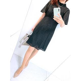 kate spade new york - 【美品✨】定価50,000円❤️ケイトスペード✨サイズ0✨総レースワンピース✨