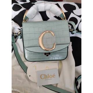 Chloe - 期間限定セール】Chloe クロコ型押しバッグ ChloeC クロエシー