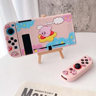 ニンテンドースイッチ(Nintendo Switch)の星のカービィ スターライド Switch ソフト 保護 カバー ケース RK06(その他)