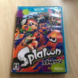 ウィーユー(Wii U)のSplatoon(スプラトゥーン) Wii U ジャンク扱いで(家庭用ゲームソフト)