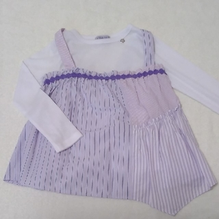 ANNA SUI mini - アナスイミニ チュニック ロングTシャツ 120㎝
