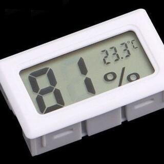 ★☆ デジタル 湿度計 温度計 白色 ☆★