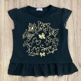 アイカツ(アイカツ!)の女児Tシャツ アイカツ スパイシーアゲハ(Tシャツ/カットソー)