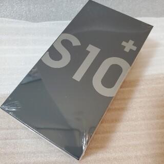 SAMSUNG - Galaxy S10+ Prism Black 128 GB SIMフリー