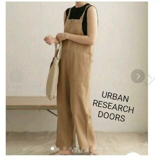 DOORS / URBAN RESEARCH - URBAN RESEARCH DOORS コットンリネンデッキサロペット