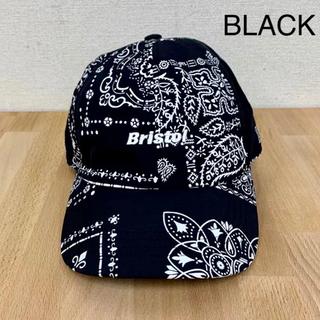 F.C.R.B. - FCRB AUTHENTIC LOGO CAP 黒  21ss