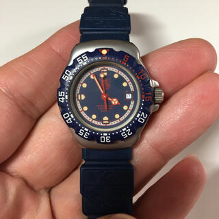 タグホイヤー(TAG Heuer)のタグホイヤー 時計 フォーミュラ 青 ブルー クオーツ(腕時計(アナログ))