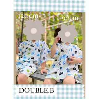 ダブルビー(DOUBLE.B)のダブルビー 120cm ありがとうございます!(甚平/浴衣)
