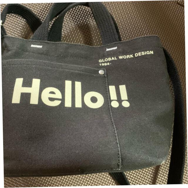 GLOBAL WORK(グローバルワーク)のグローバルワーク 2WAYロゴBAGミニ レディースのバッグ(ショルダーバッグ)の商品写真
