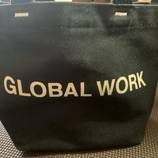 GLOBAL WORK - グローバルワーク 2WAYロゴBAGミニ