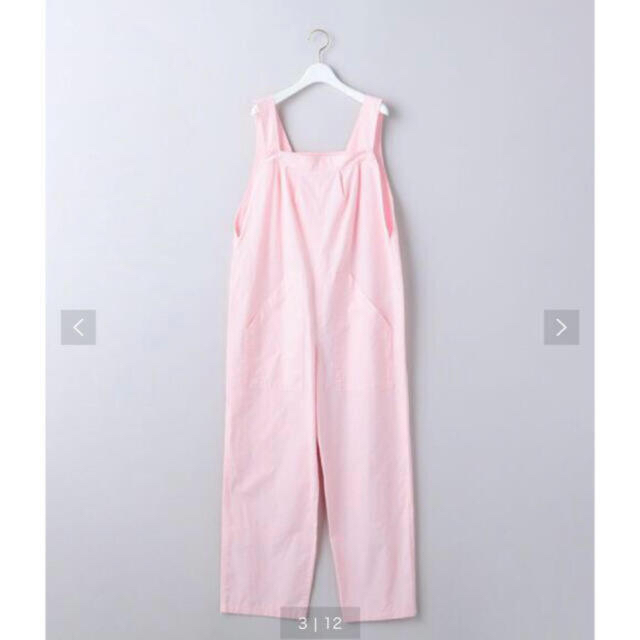 BEAUTY&YOUTH UNITED ARROWS(ビューティアンドユースユナイテッドアローズ)の6 roku cotton some all IN one ピンク 36 レディースのパンツ(オールインワン)の商品写真