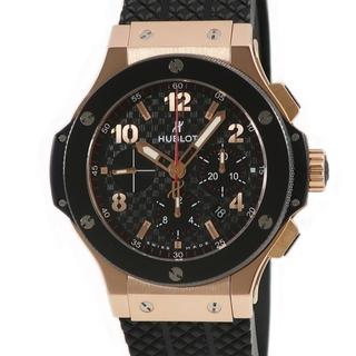 ウブロ(HUBLOT)のウブロ  ビッグバン クロノ 301.PB.131.RX 自動巻き メン(腕時計(アナログ))