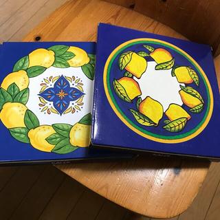 カルディ レモン皿 2枚セット