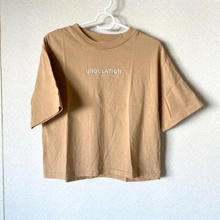 LOWRYS FARM - 【LOWRYS FARM】Tシャツ ブラウン ロゴT レディース