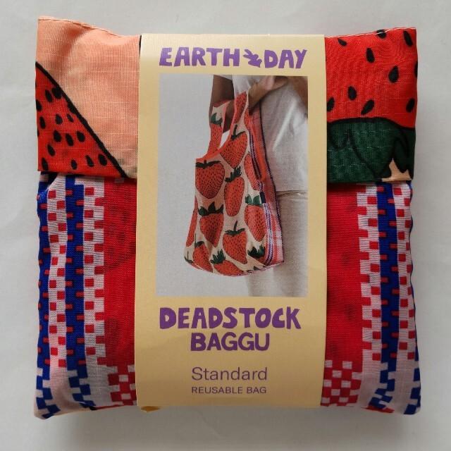 BAGGU エコバッグ スタンダード デッドストック フルーツスタンド いちご レディースのバッグ(エコバッグ)の商品写真