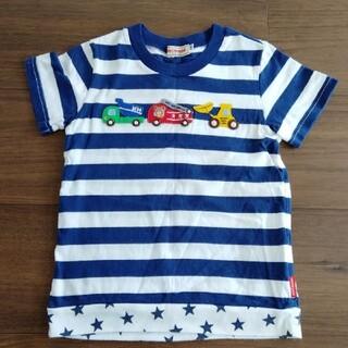 mikihouse - mikihouse プッチーくん 乗り物たくさんTシャツ