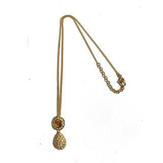 クリスチャンディオール(Christian Dior)のChristian Dior ヴィンテージロゴデザインネックレス 正規品(ネックレス)
