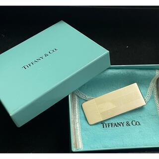 ティファニー(Tiffany & Co.)の美品 ティファニー ヴィンテージ マネークリップ Tモチーフ シルバー925(マネークリップ)