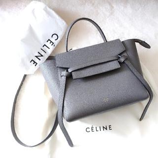 celine - CELINE  ベルトバッグ