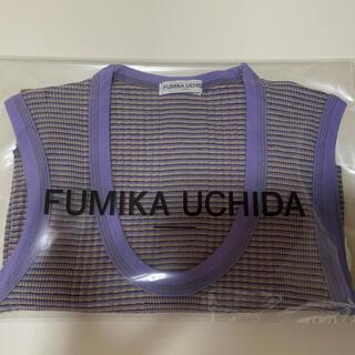 トゥモローランド(TOMORROWLAND)のFUMIKA_UCHIDA タンクトップ(タンクトップ)