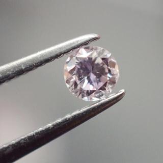 0.083ct ピンクダイヤ ダイヤモンド カラーダイヤ ルース