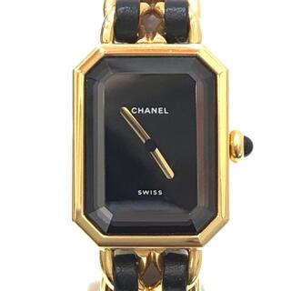 シャネル(CHANEL)の9362 CHANEL シャネル  プルミエール Mサイズ クオーツ 腕時計(腕時計)