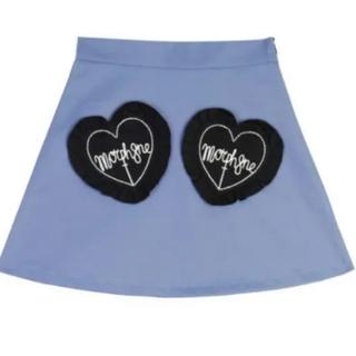 バブルス(Bubbles)のモルフィン ハートポケットスカート(ひざ丈スカート)