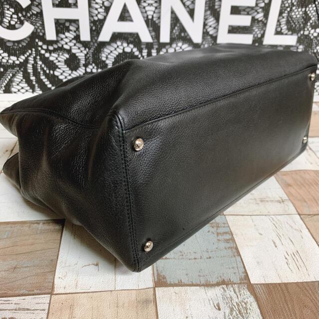 CHANEL(シャネル)のCHANEL シャネル エグゼクティブ トートバッグ ブラック レディースのバッグ(トートバッグ)の商品写真