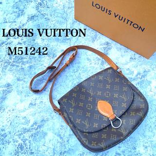 LOUIS VUITTON - LOUIS VUITTON ショルダーバッグ斜めがけ モノグラム サンクルー24
