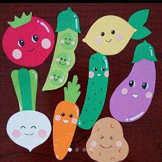 ③【新作・現品限り】ハーフバースデー オリジナル お野菜8点セット キューピー