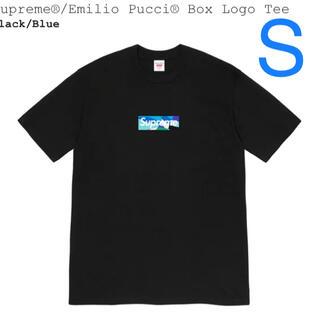 シュプリーム(Supreme)のsupreme emilio pucci box logo tee(Tシャツ/カットソー(半袖/袖なし))