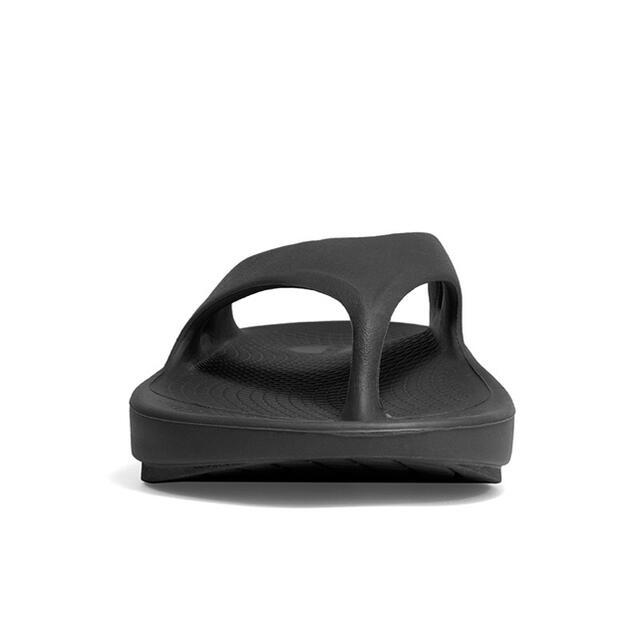 【24.0cm・黒】OOFOS Original 新品未使用品! レディースの靴/シューズ(サンダル)の商品写真