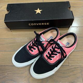 CONVERSE - converse スニーカー BLACK/PINK 23.5センチ