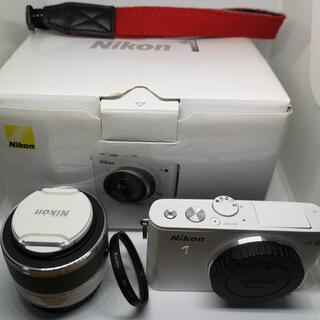Nikon - NIKON 1 J3 ズームレンズキット 白