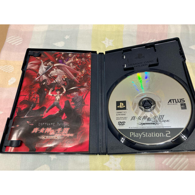 PlayStation2(プレイステーション2)のプレイステーション2 真・女神転生III-ノクターン マニアクス PS2 エンタメ/ホビーのゲームソフト/ゲーム機本体(家庭用ゲームソフト)の商品写真