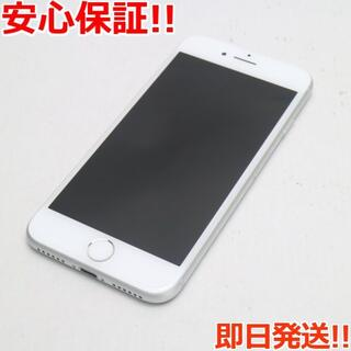 アイフォーン(iPhone)の新品同様 SIMフリー iPhone8 64GB シルバー (スマートフォン本体)