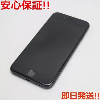 アイフォーン(iPhone)の新品同様 SIMフリー iPhone8 64GB スペースグレイ (スマートフォン本体)