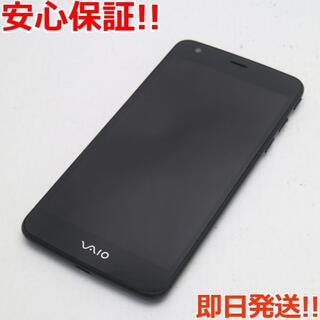バイオ(VAIO)の新品同様 VA-10J VAIO Phone ブラック (スマートフォン本体)