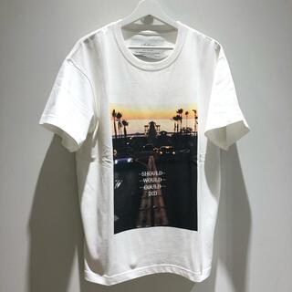タトラス(TATRAS)のSeagreen WHITE 02サイズ オーガニックコットン 新品未使用!(Tシャツ/カットソー(半袖/袖なし))