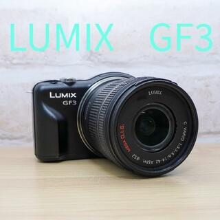 Panasonic - パナソニック LUMIX GF3 レンズキット!!