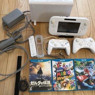 ウィーユー(Wii U)の任天堂WiiUとソフトのセット ゼルダ マリオ(家庭用ゲーム機本体)