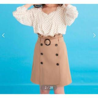 マジェスティックレゴン(MAJESTIC LEGON)のマジェトレンチ風スカート(ミニスカート)